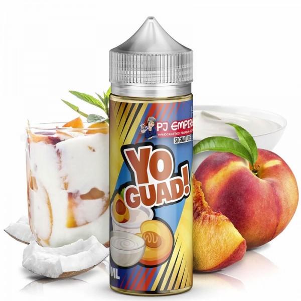 Yo!Guad von PJ Empire (Signature Line) ♥ Apfel, Pfirsich, Joghurt ✔ Longfill Aroma: Einfach mischen ✔ Schneller Versand ✔
