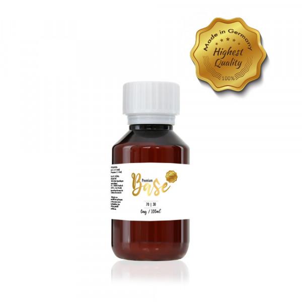 Premium Base 100ml-Flasche 70/30 Nikotinfrei