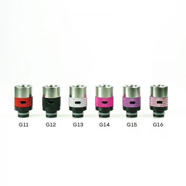 DripTip mit AirFlow ♥ 510er Anschluß ✔ Stylisch ✔ Verschiedene Farben ✔