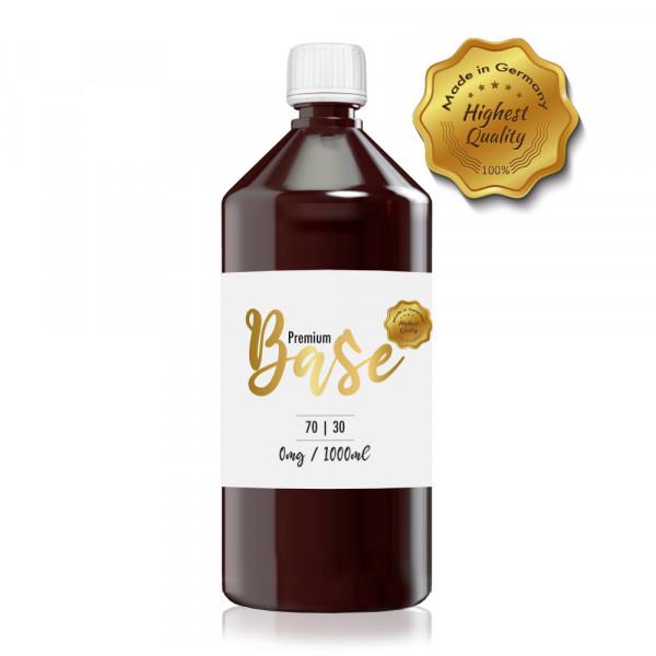 Premium Base 1000ml-Flasche 70/30 Nikotinfrei