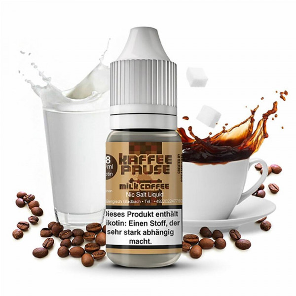 Milk Coffee - Nikotinsalz 18 mg/ml