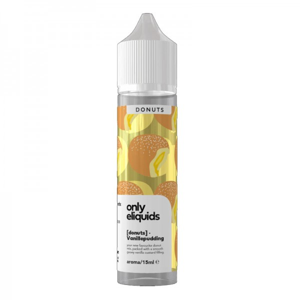 Only ELiquid Donut mit Vanilepudding