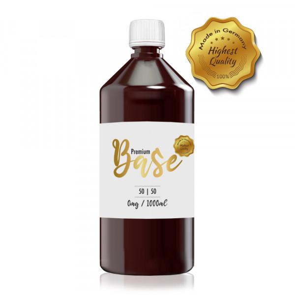 Premium Base 1000ml-Flasche 50/50 Nikotinfrei