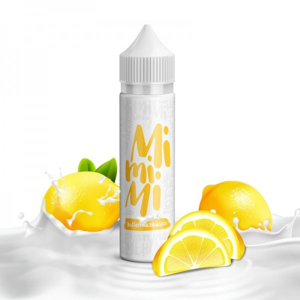 Buttermilchkasper Liquid von MiMiMi Juice ♥ Buttermilch, Zitrone ✔