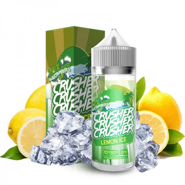 Lemon Ice Liquid von Crusher ♥ Saftig kühles Zitronensorbet ✔ 100ml Shortfill ✔ Schneller Versand ✔ Auch in unseren eZigaretten Geschäften ✔