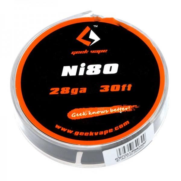 Nickel Ni80 Draht auf Rolle