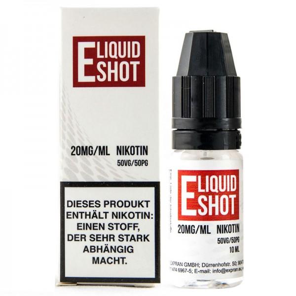 E-Liquid Nikotinshot 20mg 50/50