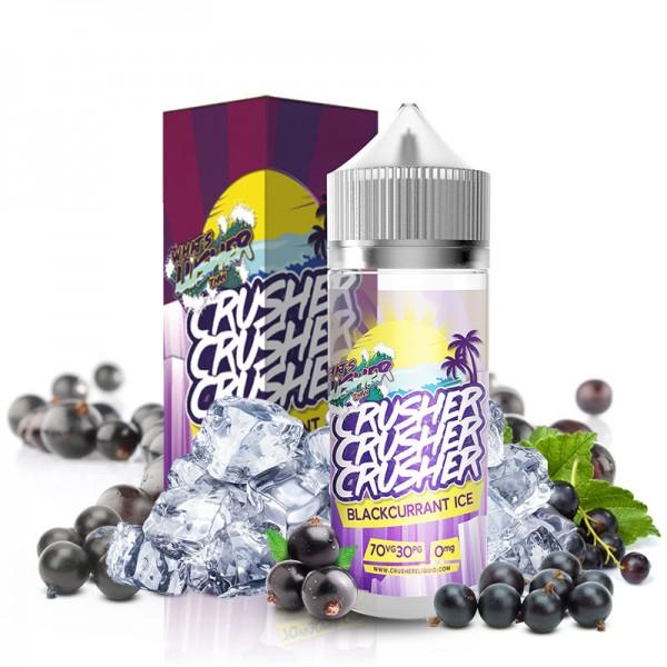 Blackcurrant Ice Liquid von Crusher ♥ Saftige, eisgekühlte Johannisbeere ✔ 100ml Shortfill ✔ Schneller Versand ✔ Auch in unseren eZigaretten Geschäften ✔