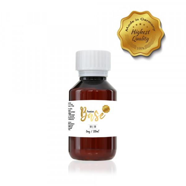Premium Base 100ml-Flasche 50/50 Nikotinfrei