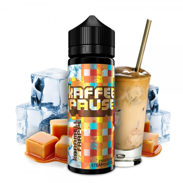 Kaffeepause Karamell Frapé Longfill
