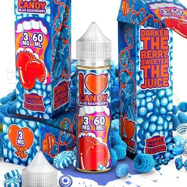 Mad Hatter I love Candy Blue Raspberry Liquid