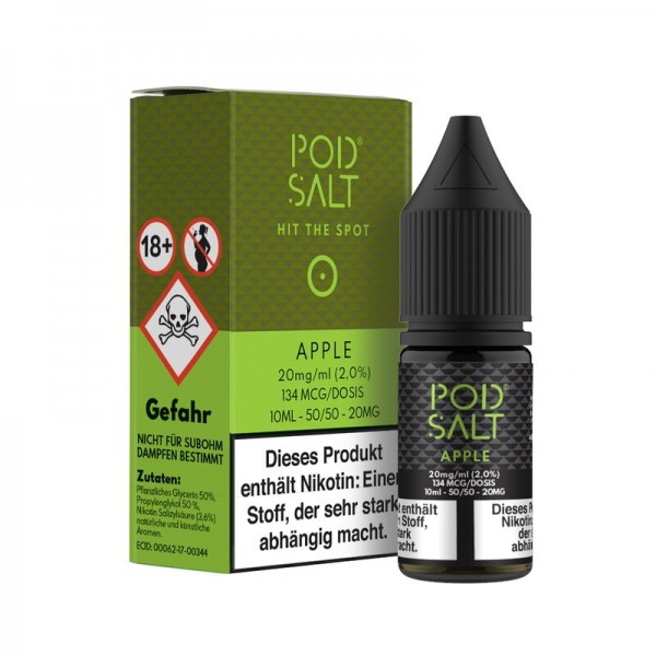 Pod Salt Apple