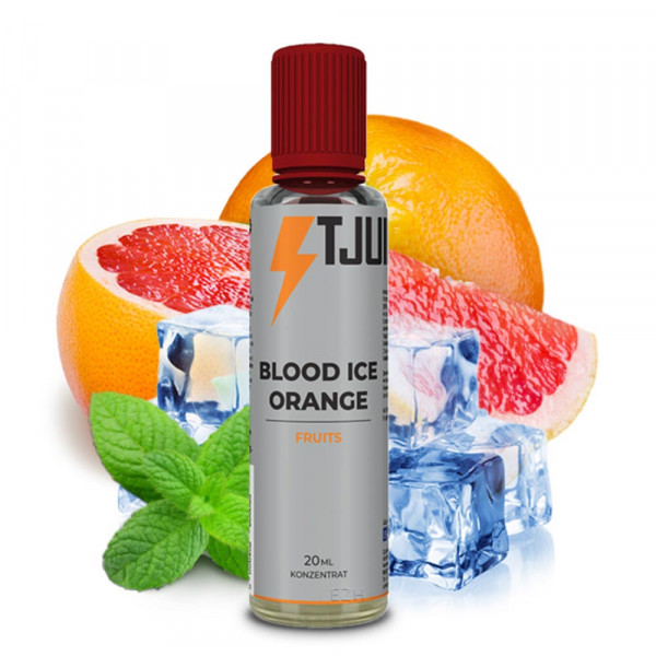 T-JUICE FRUITS Blood Ice Orange - 20ml Aroma