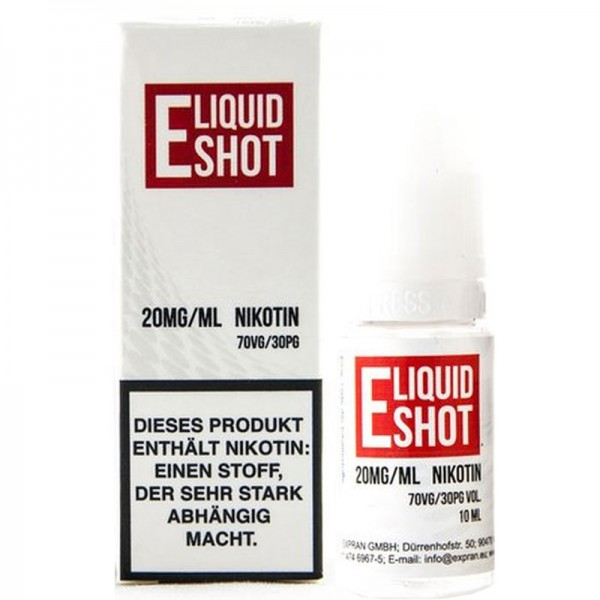 E-Liquid Nikotinshot 20mg 70/30