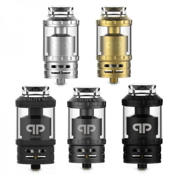 Fatality M25 RTA von QP Design ♥ Hochwertiger RTA ✔ Single- oder Dual-Coils ✔ 4,0ml- und 5,5ml -Glas ✔ TopFilling ✔
