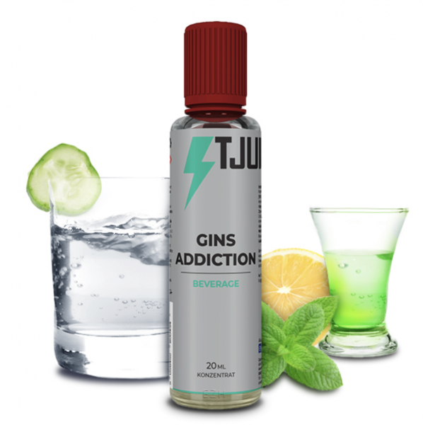 T-Juice BEVERAGE Gins Addiction - 20ml Aroma