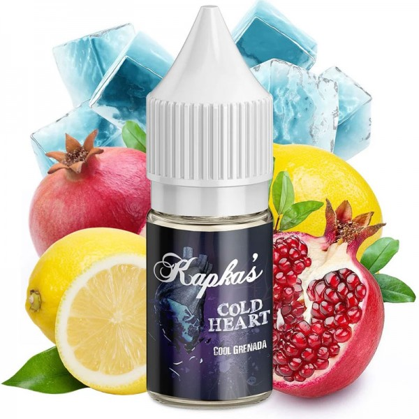 Kapka's Cold Heart Aroma ♥ Granatapfel, Zitrone, Frische ✔ 10ml ✔ 14% Dosierung ✔ Auch in unseren Shops ✔