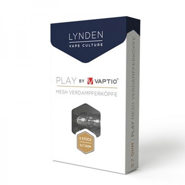 Lynden Play 0,7 Ohm Mesh Coils 5er-Pack